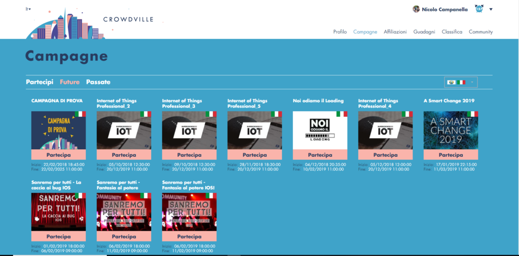 Campagne Crowdville