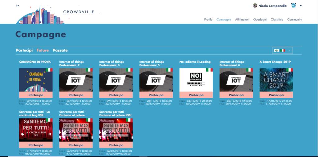 Campagne Crowdville