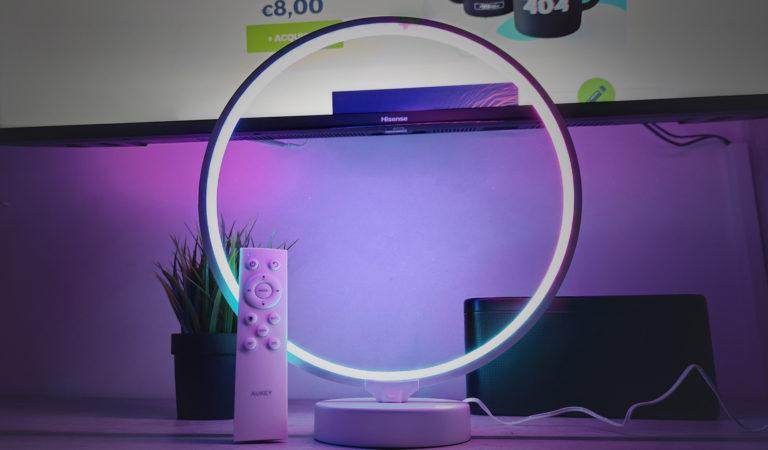 AUKEY Aura Lamp, un tocco di Design per la tua casa