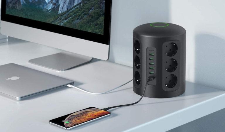 Recensione AUKEY PowerHub XL, 12 prese e 6 porte USB!