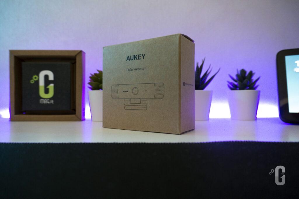 AUKEY Webcam Full HD 1080p PC-LM1E Confezione