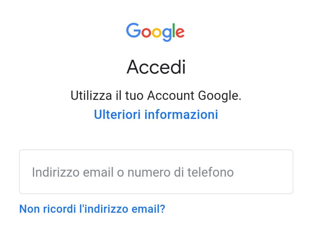 Cambiare Account Google su Android Schermata 10