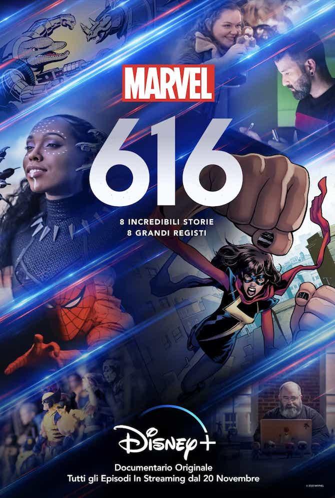 Locandina Marvel 616
