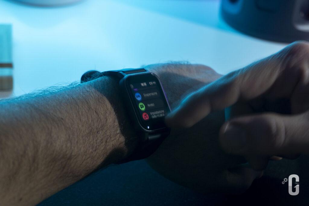 Smartwatch AUKEY LS02 Dimostrazione Usabilità