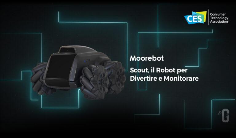 Scout, il Robot per il divertimento e la sicurezza al CES 2021