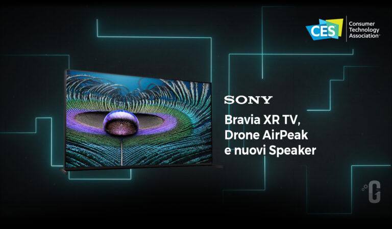 Sony entra in scena  al CES 2021 con nuove tecnologie per l'intrattenimento