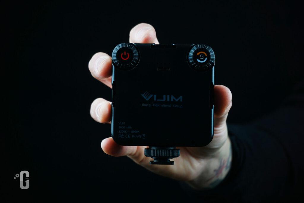Pannello LED VIJIM VL81 - Panoramica Posteriore