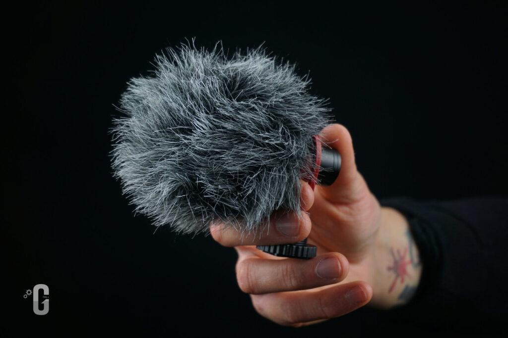 Pelliccia antivento microfono SAIREN VM-Q1