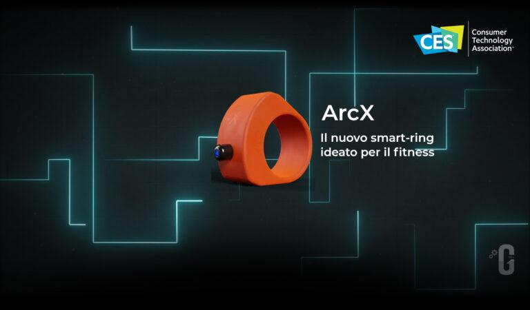 ArcX, il nuovo smart-ring ideato per il fitness