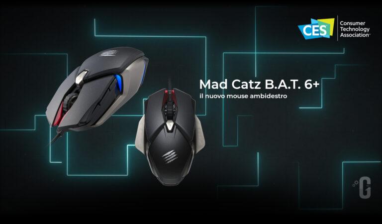 Mad Catz annuncia B.A.T. 6+, il nuovo mouse gaming