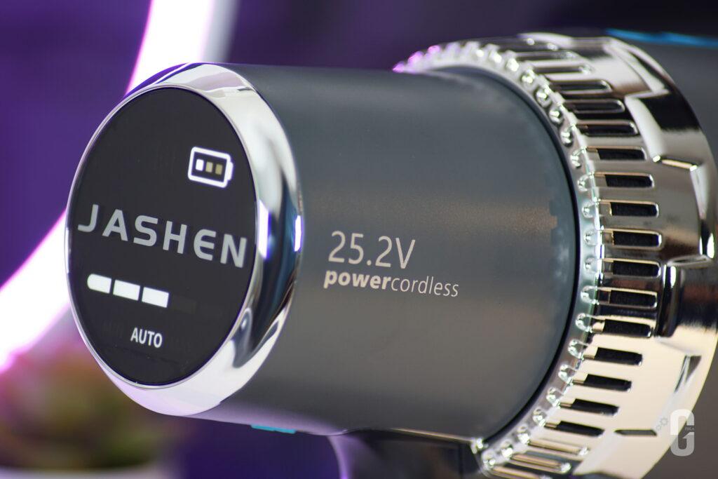 Display Aspirapolvere senza fili intelligente Jashen V18