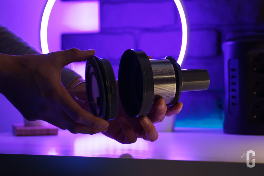 Filtro HEPA Aspirapolvere senza fili intelligente Jashen V18