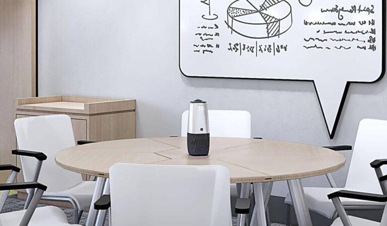 Coolpo AI HUDDLE PANA, la Camera 360° per Videoconferenze