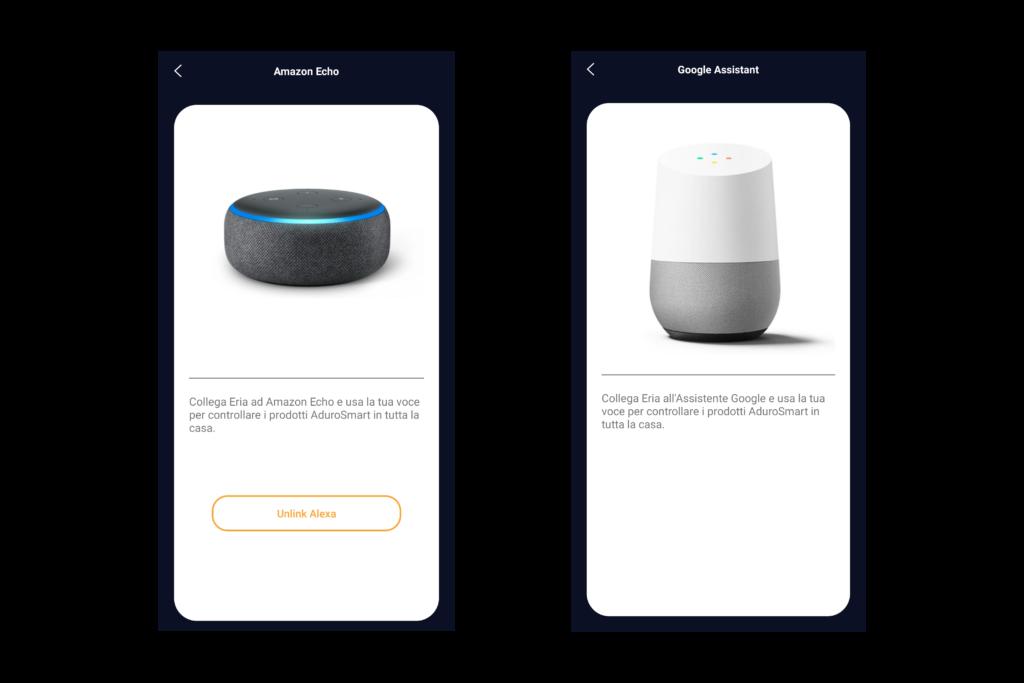 AduroSmart ERIA - Amazon Alexa e Google Home