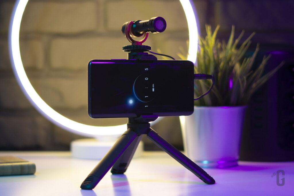 Vlog Kit CM600 K&F Concept - Microfono a condensatore cardioide