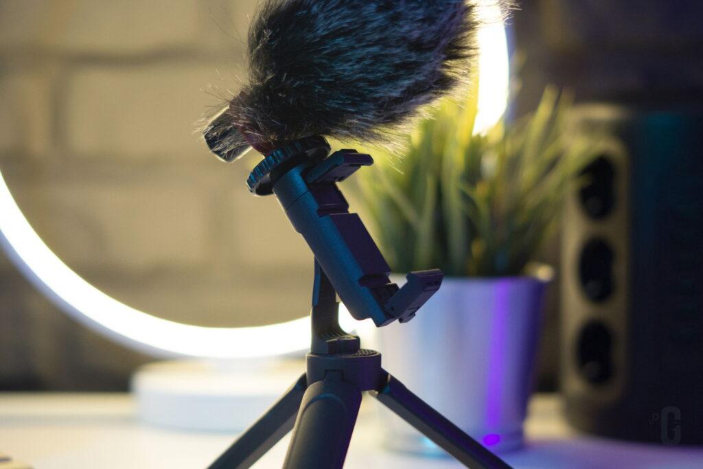 Vlog Kit CM600 K&F Concept - Supporto per Smartphone inclinato