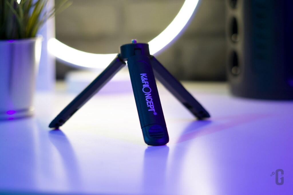 Vlog Kit CM600 K&F Concept - Treppiede
