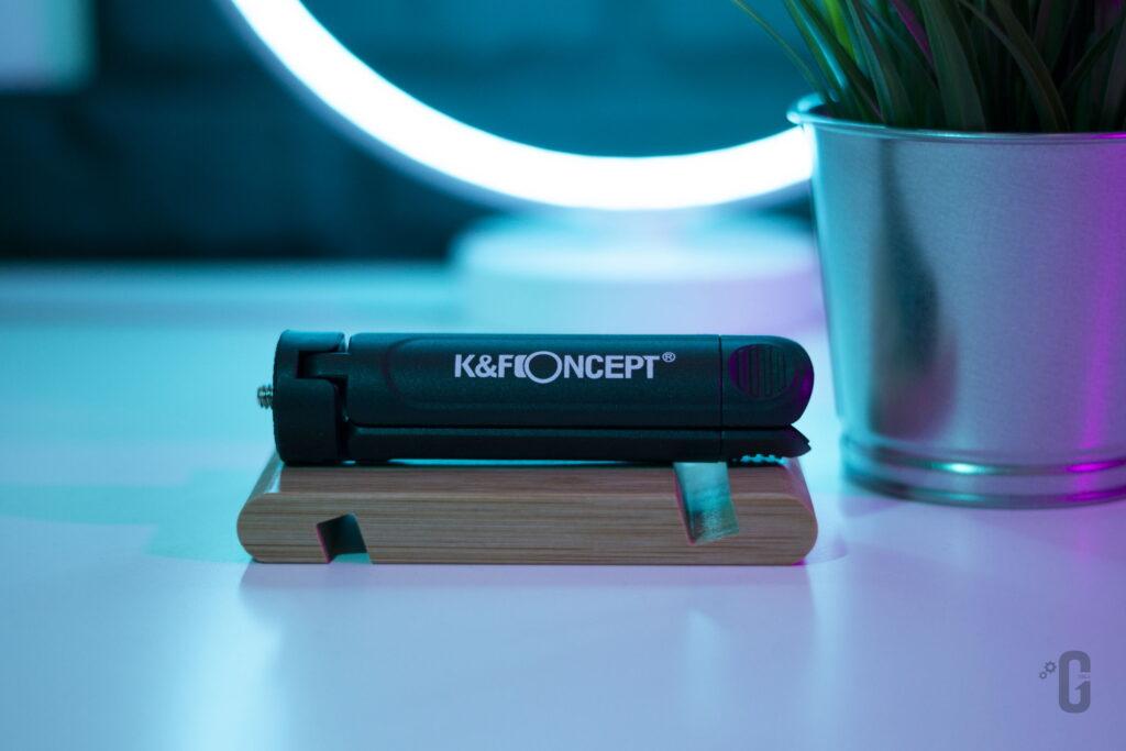Vlog Kit CM600 K&F Concept - Treppiede chiuso
