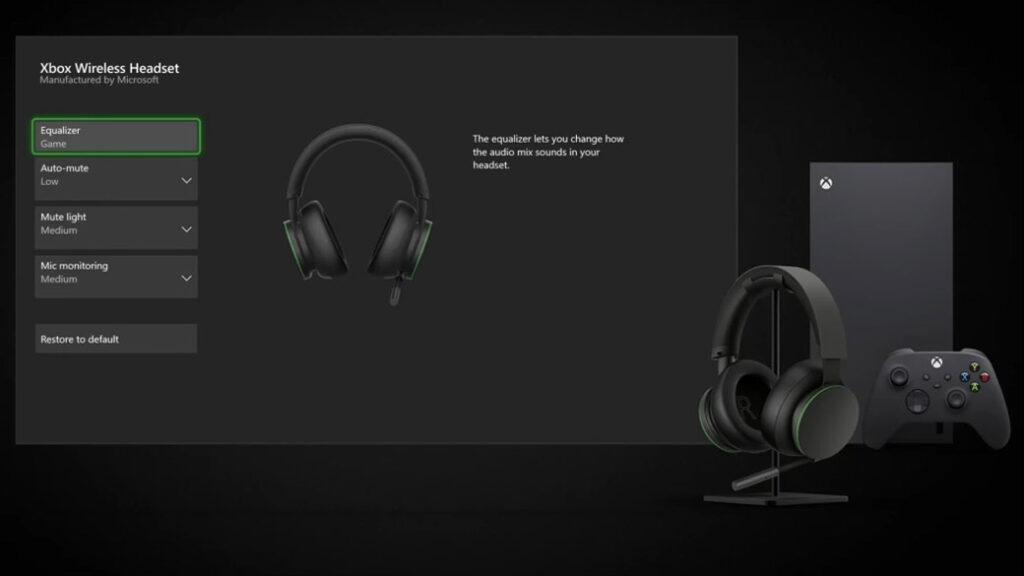 Xbox Wireless Headset - Configurazione