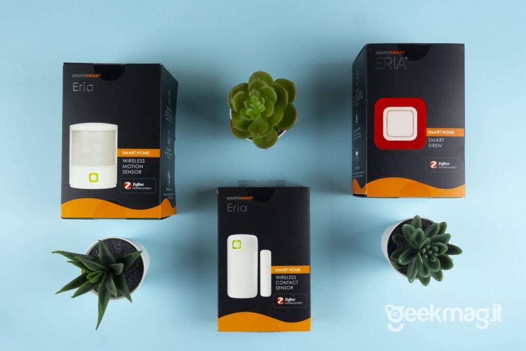 AduroSmart ERIA - Dispositivi di sicurezza casa domotica - Packaging