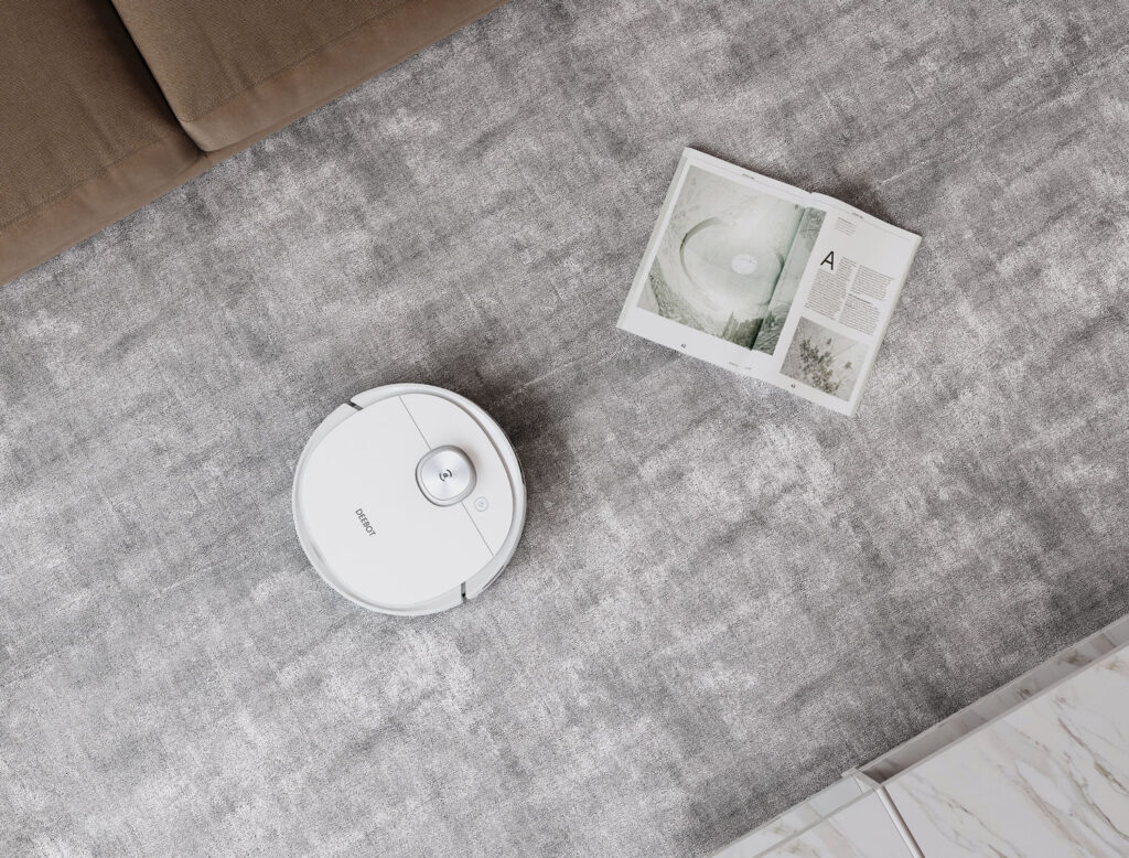 ECOVACS DEEBOT T9 Panoramica lavaggio - Geekmag.it
