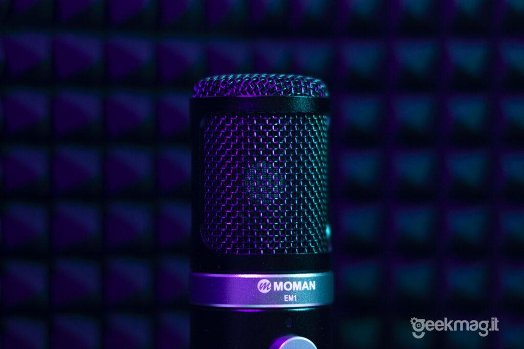 Microfono Moman EM1 - Capsula a cardioide