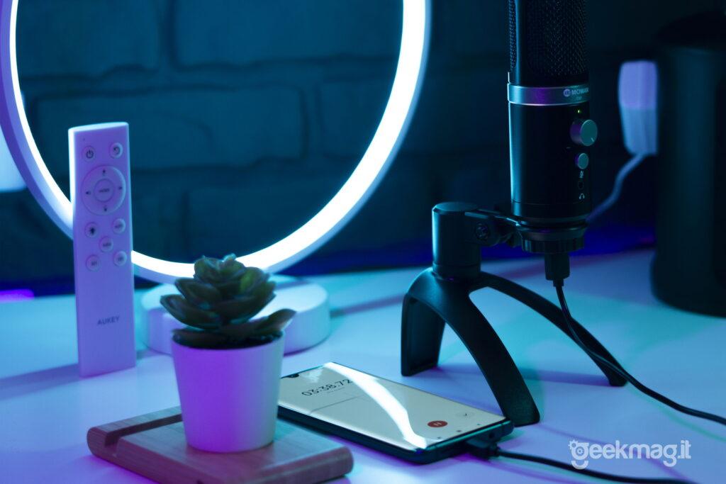 Microfono Moman EM1 - Plug & Play con Smartphone