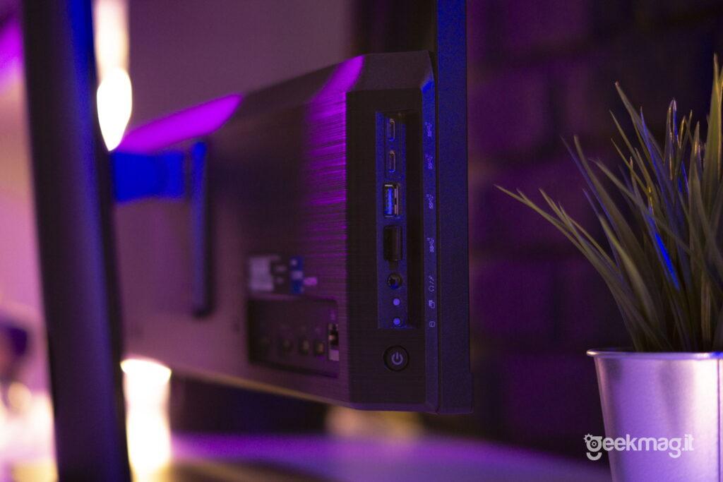 PC All-In-One Modern MSI AM271P - Disposizione porte lato sinistro