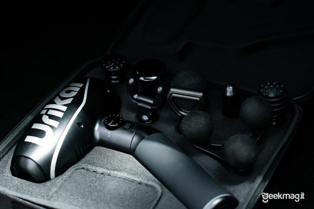 Pistola massaggiante Urikar Pro 2 - 8 Testine intercambiabili