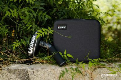 Pistola massaggiante Urikar Pro 2 - Panoramica Urikar Pro 2 e Valigetta