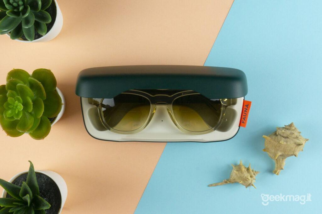 Recensione occhiali da sole smart FAUNA - Occhiali smart